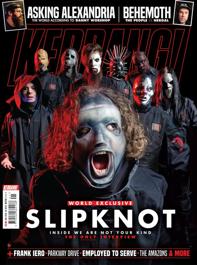 Slipknot Kerrang Magazine