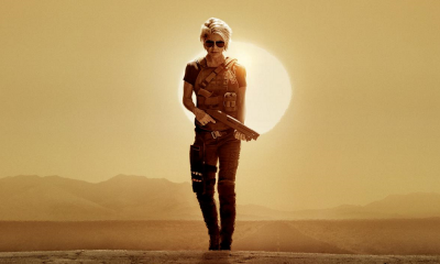Linda Hamilton Walks Alone in New 'Terminator: Dark Fate' Poster; Trailer Drops Thursday!