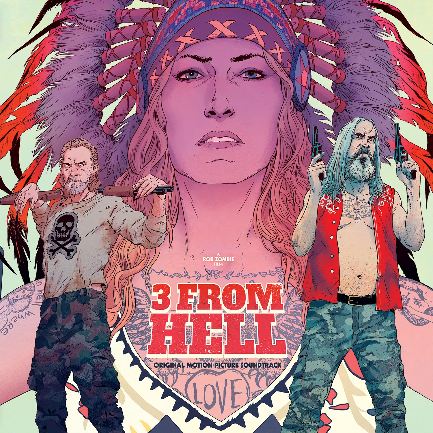 3 From Hell Vinyl Cover