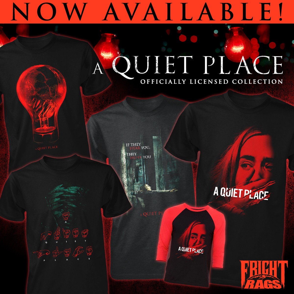 A Quiet Place Fright-Rags 1
