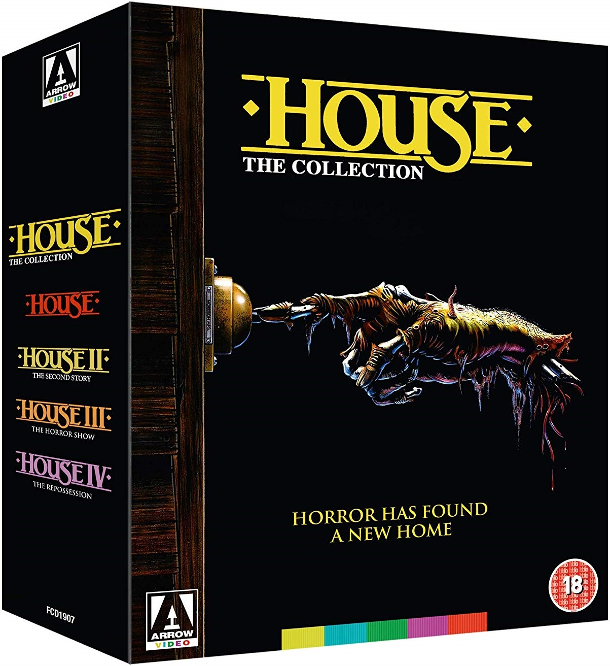 Arrow Video House Collection UK Blu-Ray