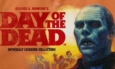 Fright-Rags Celebrates George A. Romero's Zombie Classic 'Day of the Dead' With New Apparel