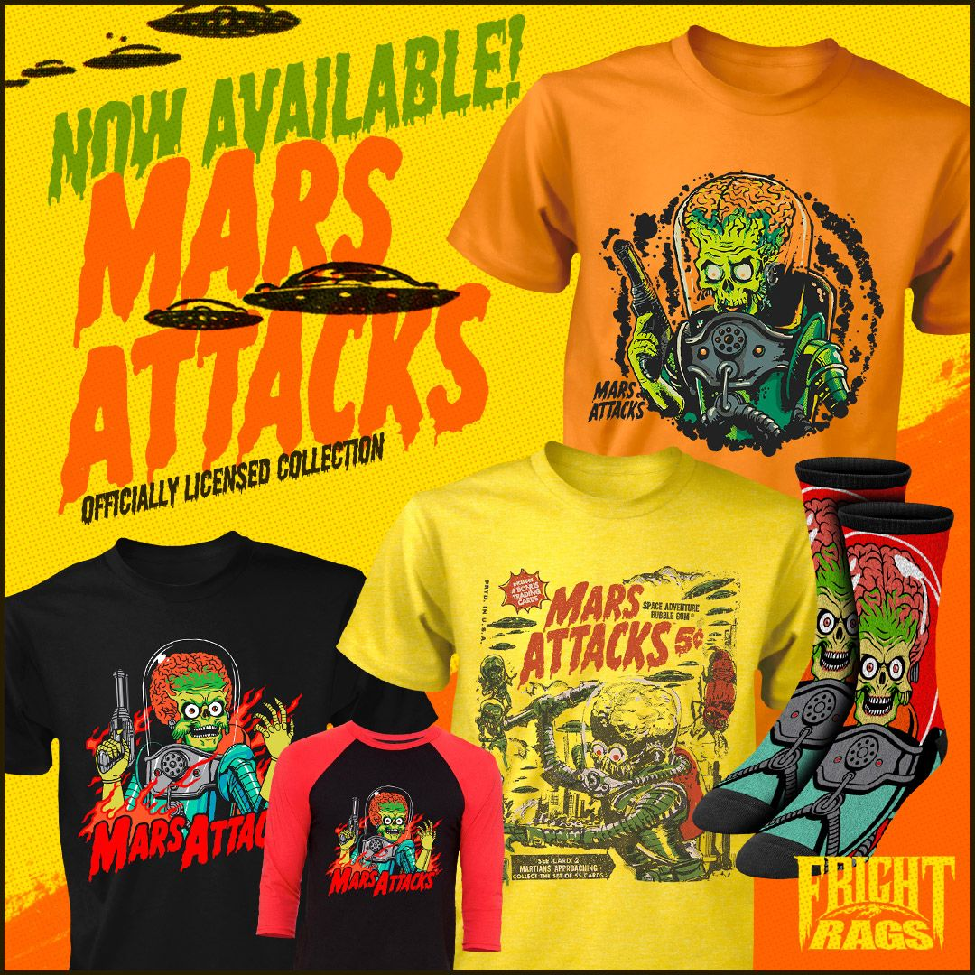 Mars Attacks Fright-Rags 1