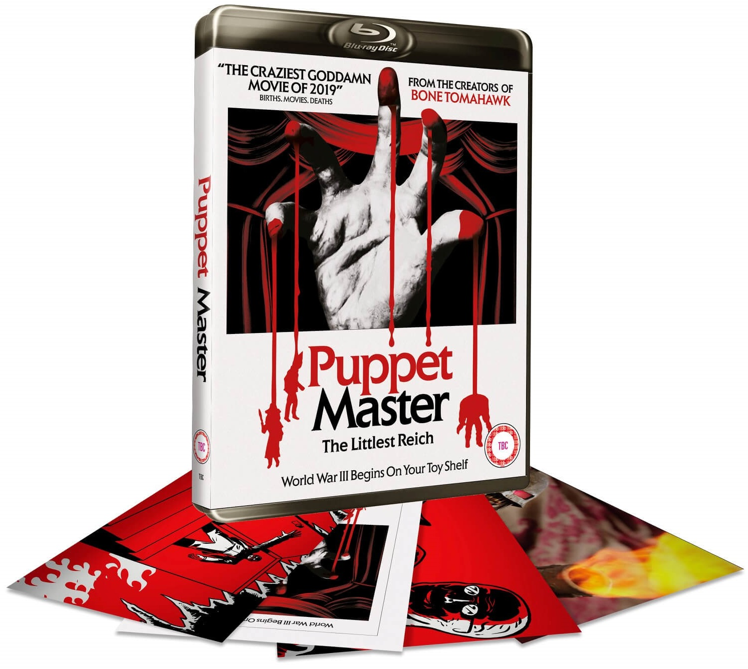 Puppet Master: The Littlest Reich Zavvi Exclusive UK Blu-Ray