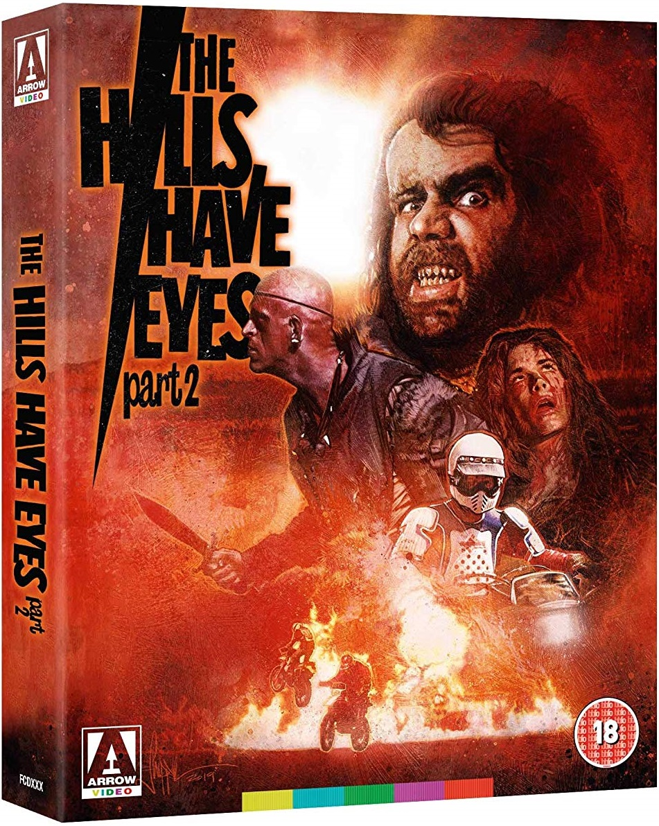 The Hills Have Eyes Part II UK Blu-Ray Cover