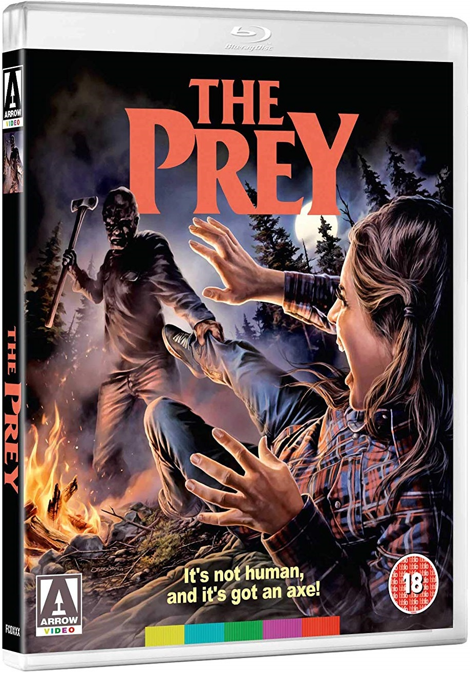 The Prey UK Blu-Ray Cover