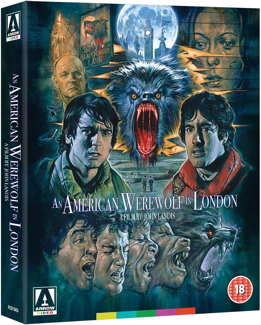 American Werewolf Arrow Video Blu-Ray Box