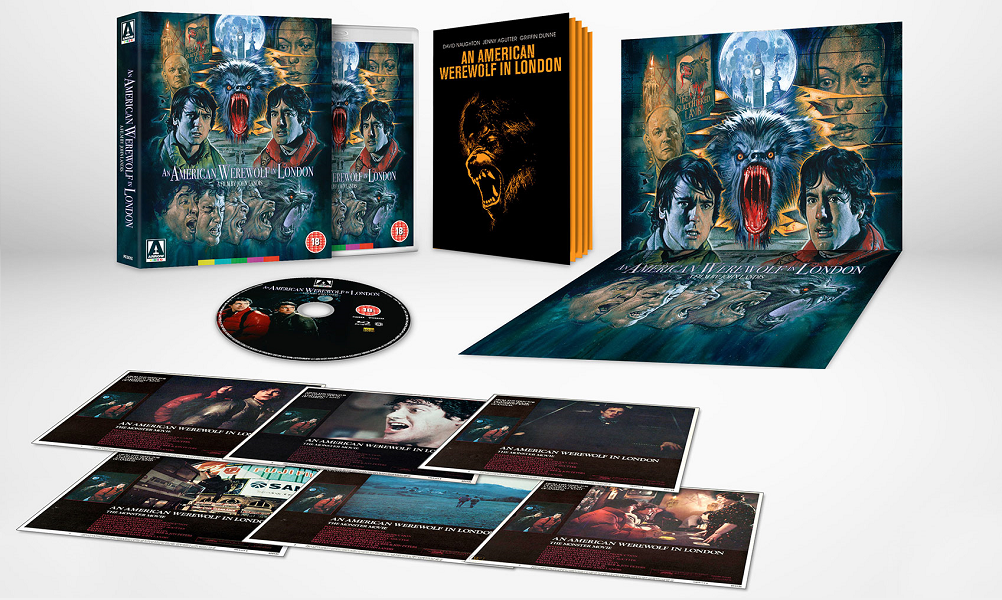 Arrow Video Unleashing 'An American Werewolf in London' Limited Edition Blu-Ray