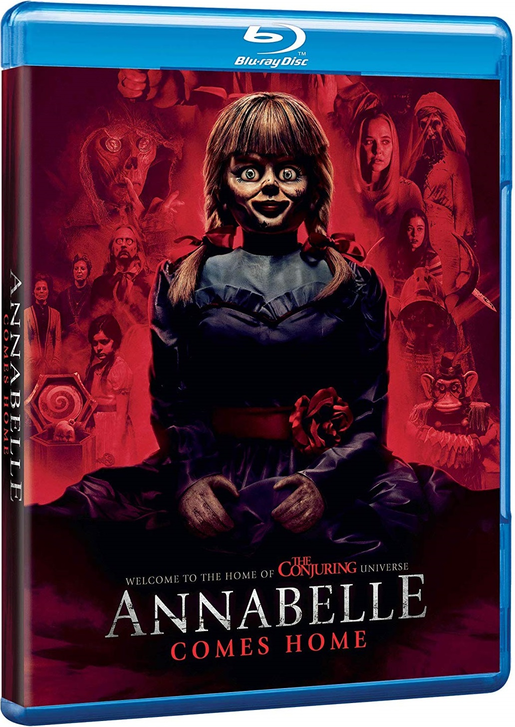 Annabelle Comes Home UK Blu-Ray