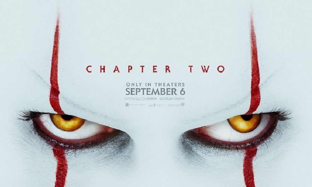 Pennywise Returns on the Official 'IT Chapter Two' Poster, Full Trailer Tomorrow!