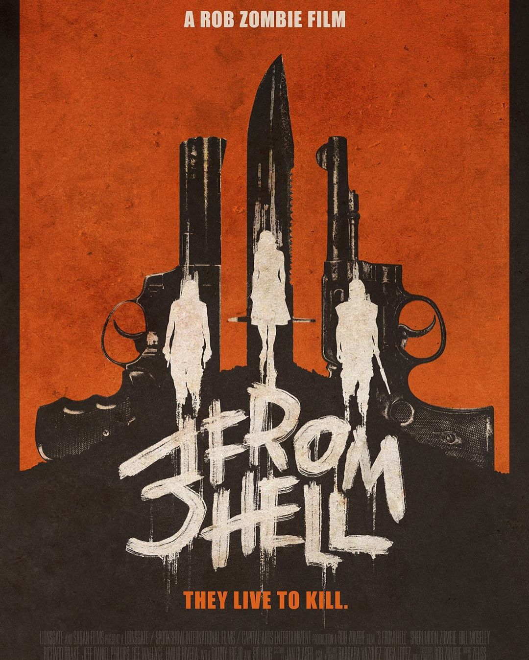 Official 3 From Hell Poster