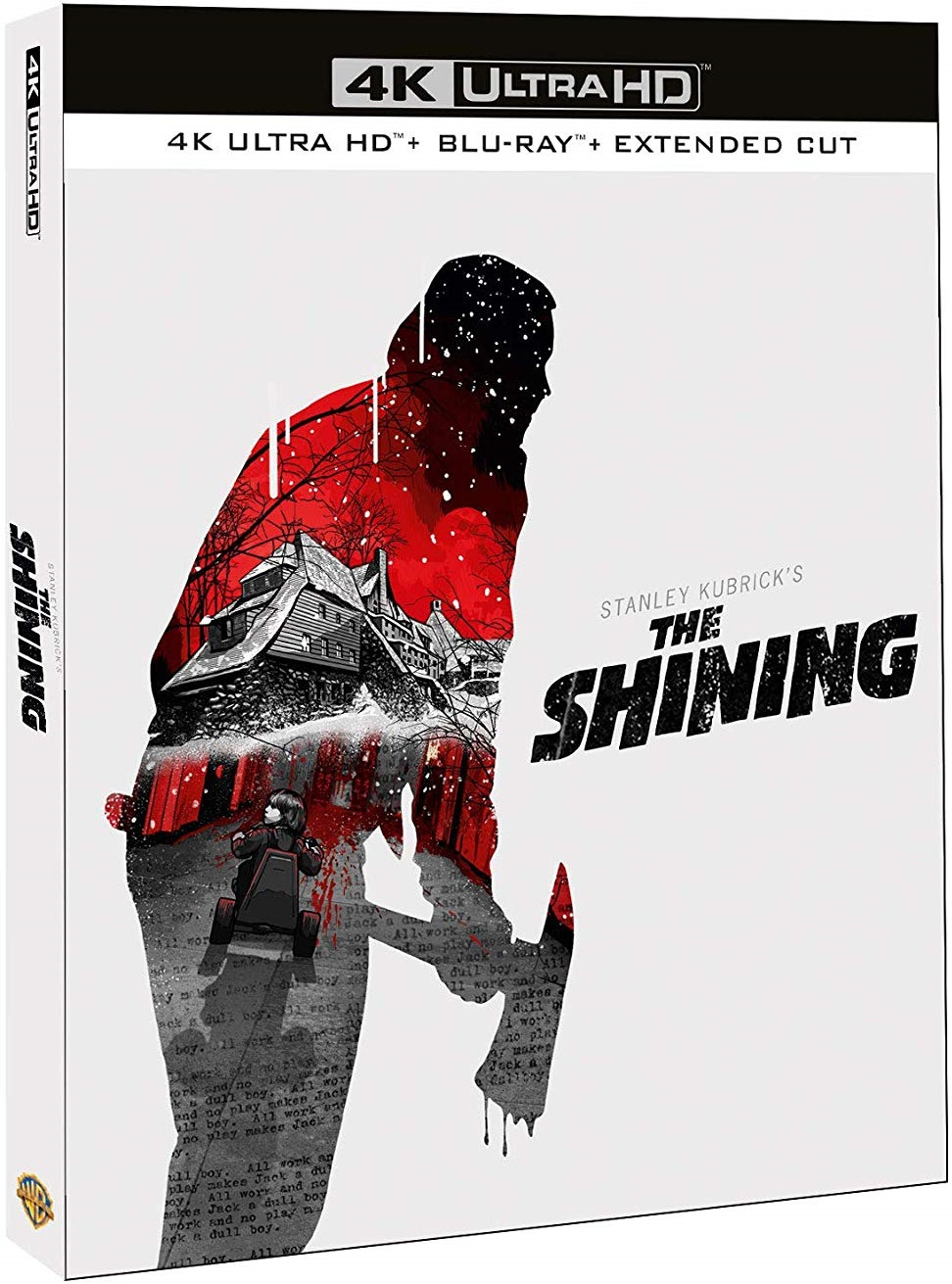 The Shining: Extended Cut UK 4K Blu-Ray