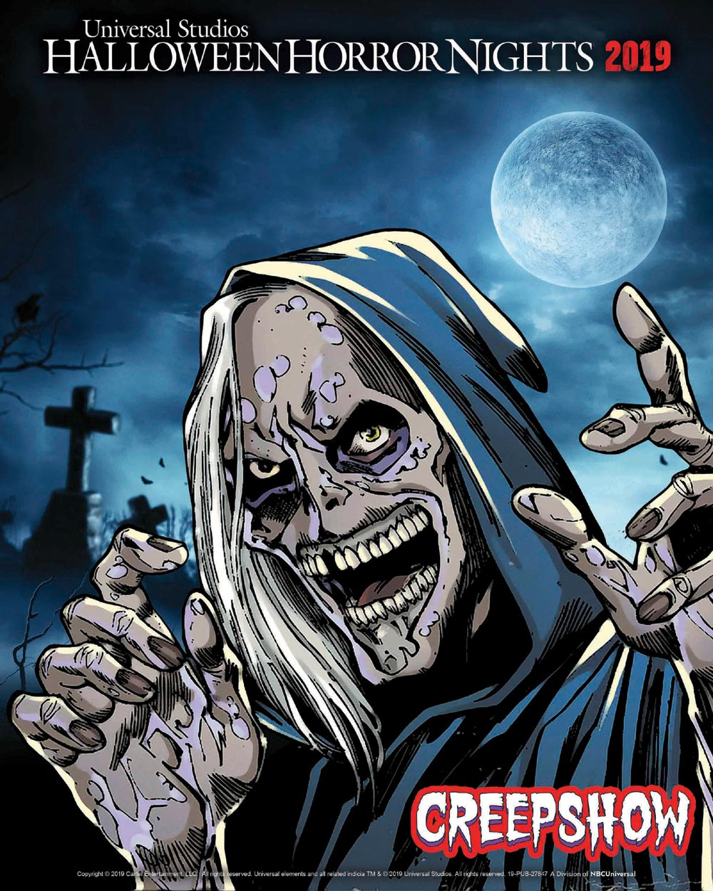 HHN Creepshow Creep Art Full