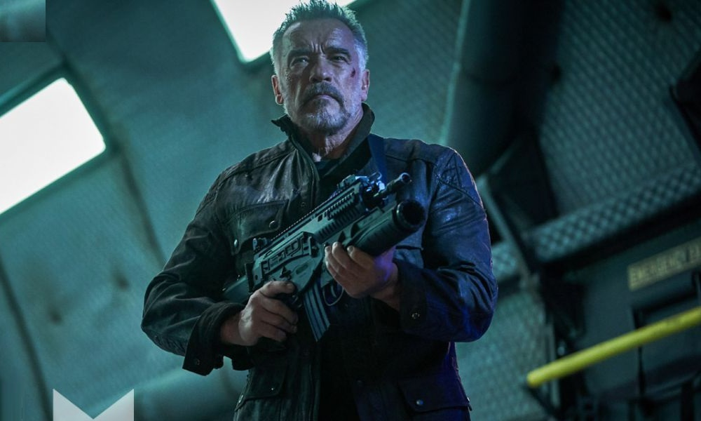 Arnold Schwarzenegger and Linda Hamilton Reunite in New 'Terminator: Dark Fate' Images