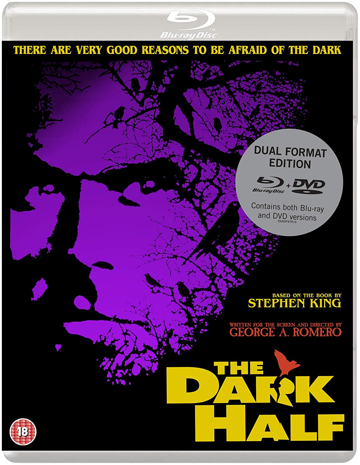 The Dark Half UK Blu-Ray