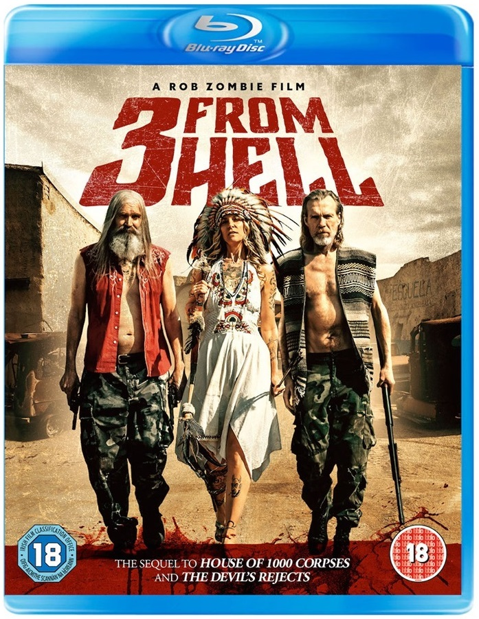 3 From Hell UK Blu-Ray