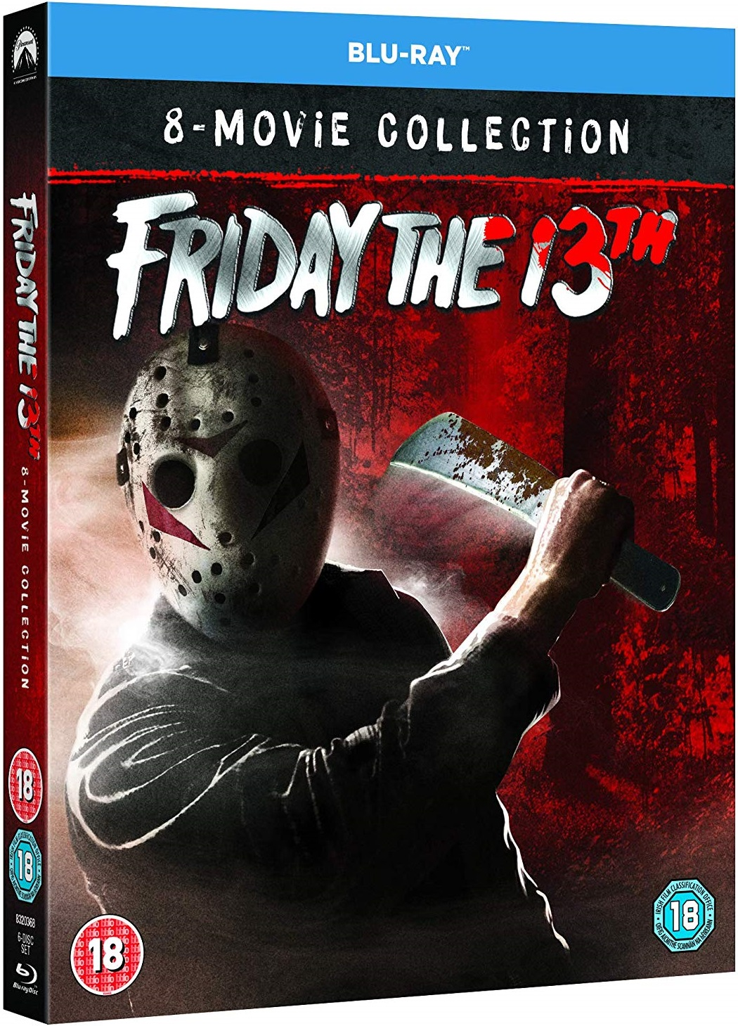 Friday the 13th 1-8 Boxset Collection Cover