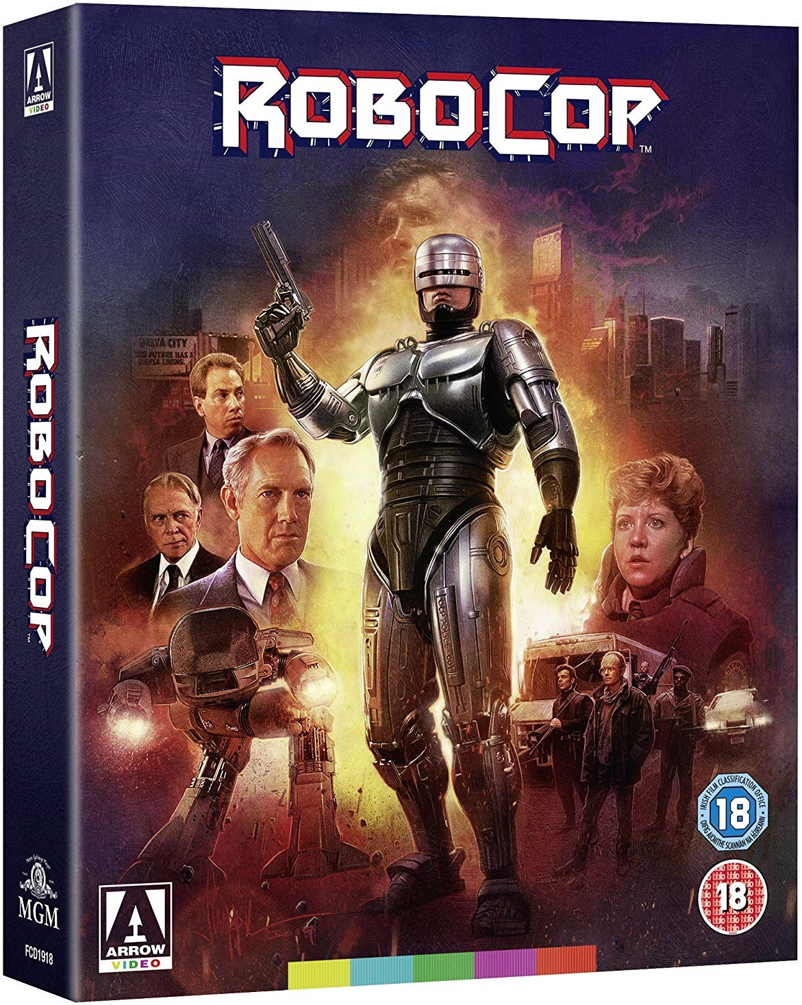 Robocop Arrow Video Cover