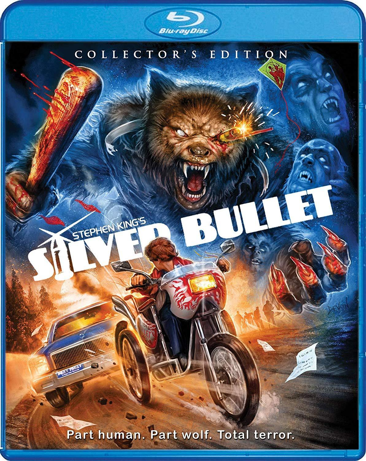 Silver Bullet Blu-Ray Cover