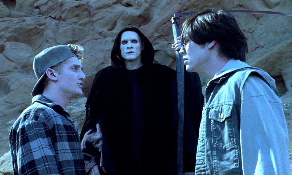 'Bill & Ted Face the Music' Set Photo Teases William Sadler Back in the Death Makeup