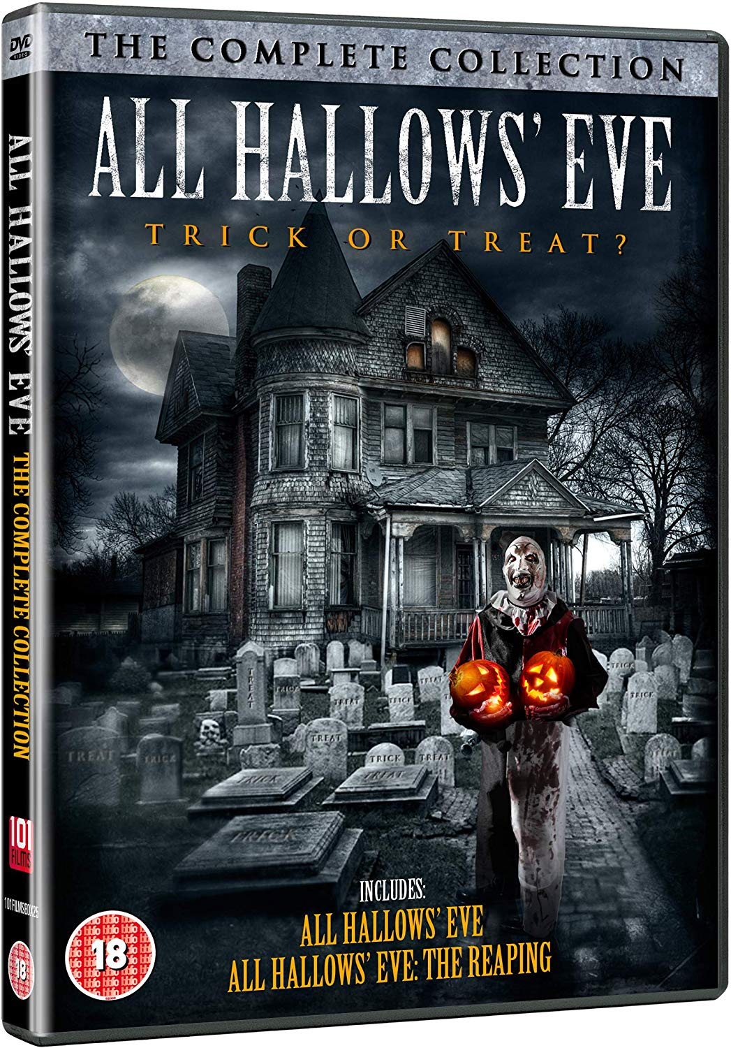 All Hallows' Eve - Double Feature UK DVD