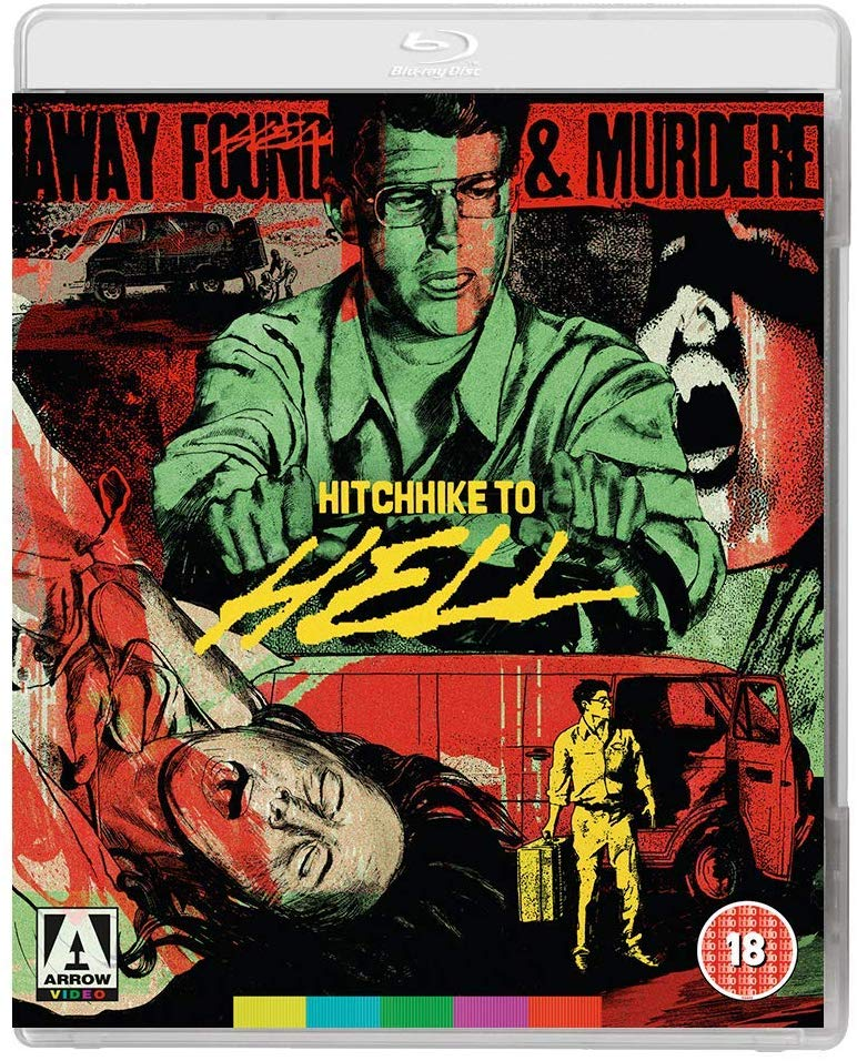 Hitchhike To Hell UK Blu-Ray
