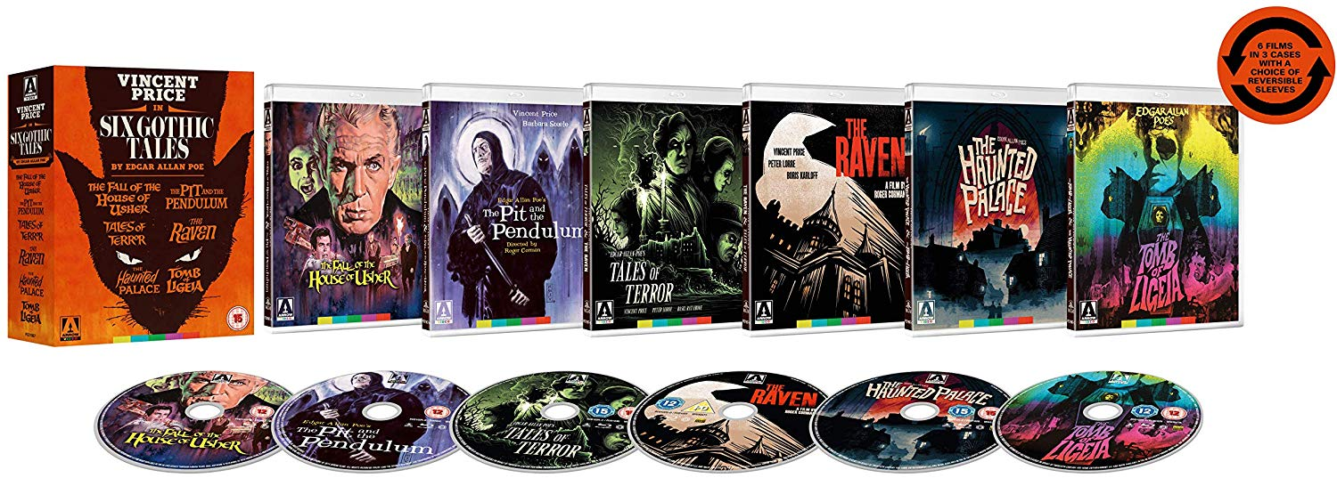 Six Gothic Tales UK Blu-Ray Collection