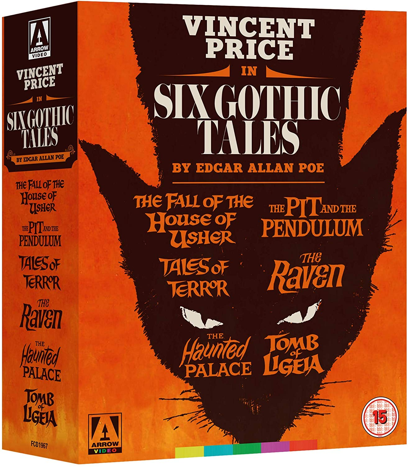 Six Gothic Tales UK Blu-Ray