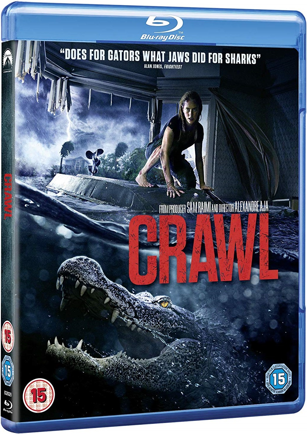 Crawl UK Blu-Ray