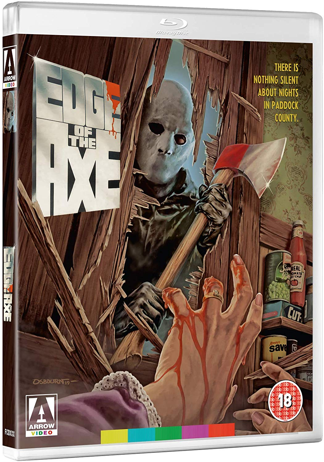 Arrow Video Edge of the Axe UK Blu-Ray