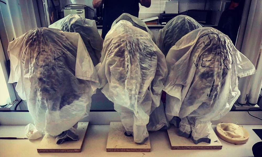 Crew Tease Three of the Masks Michael Myers Will Use in 'Halloween Kills'