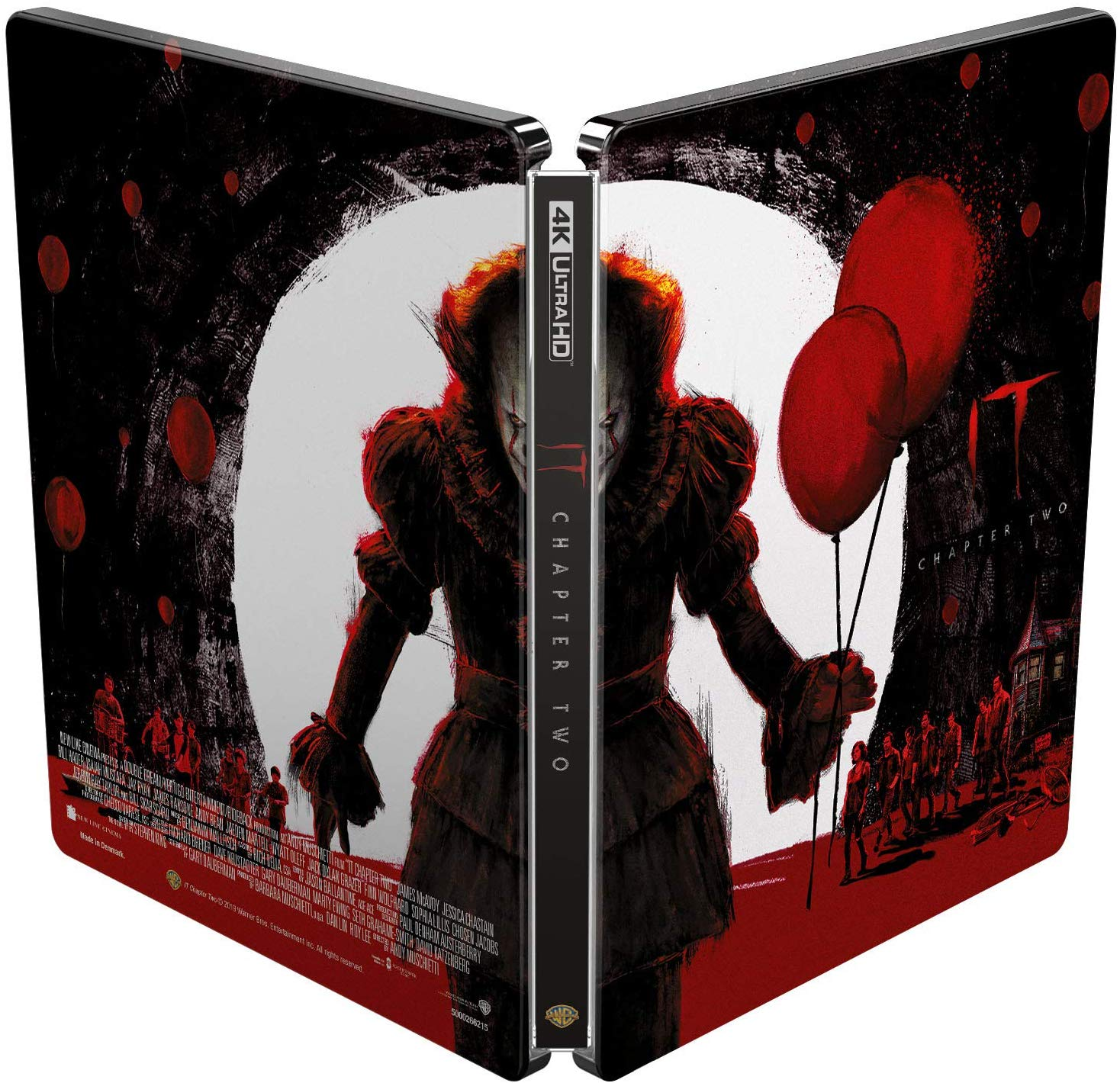 IT Chapter Two Steelbook Back and Front