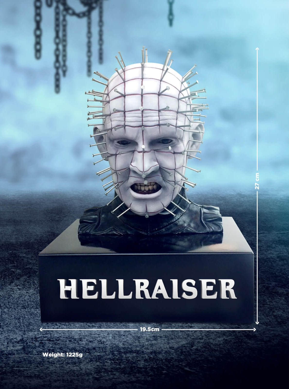 Hellraiser Limited Edition Steelbook Blu-Ray With Zavvi Pinhead Bust