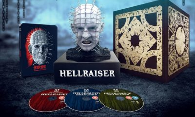 Zavvi to Stock 'Hellraiser' 1-3 Limited Edition Steelbook Blu-Ray With Exclusive Pinhead Bust