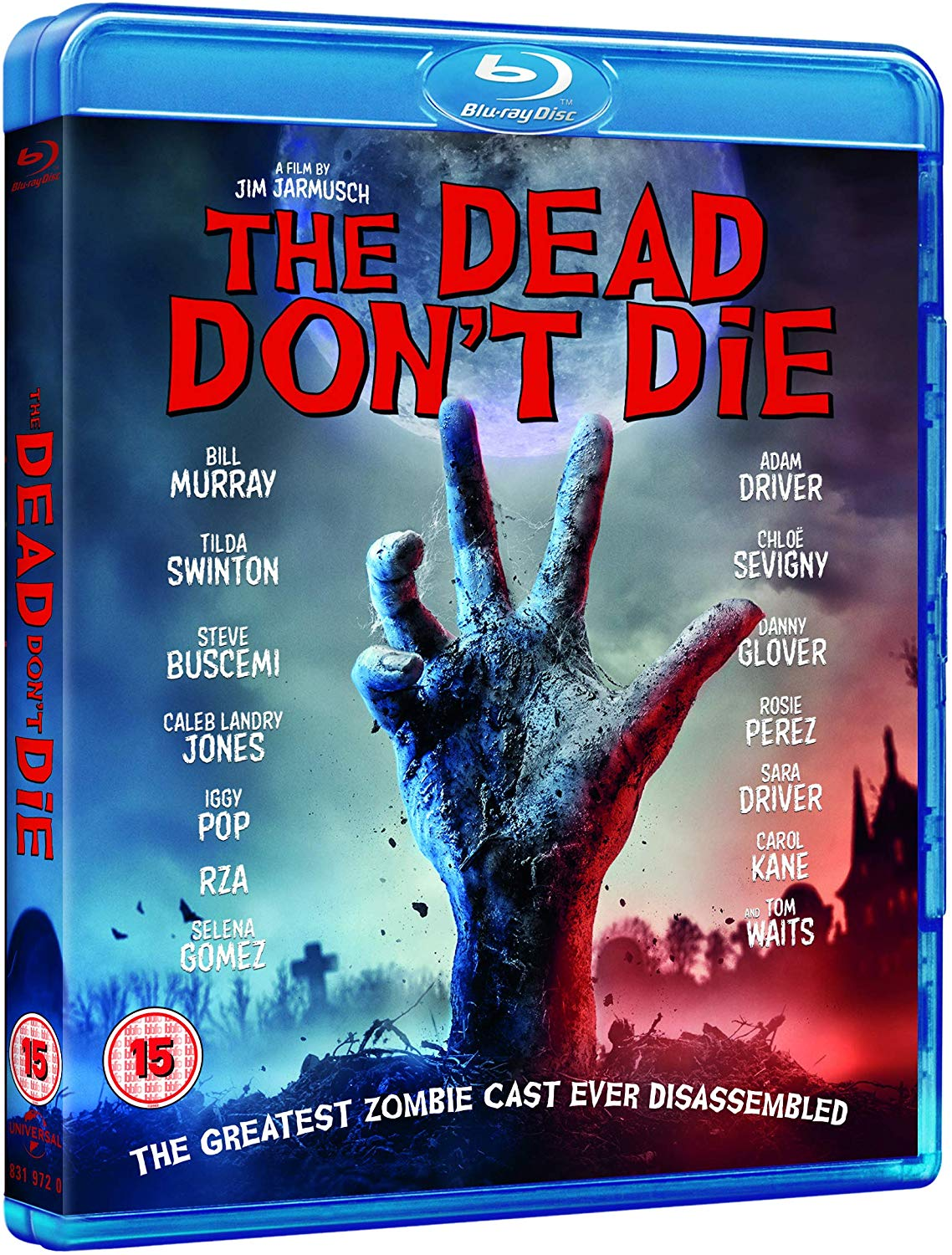 The Dead Don't Die UK Blu-Ray