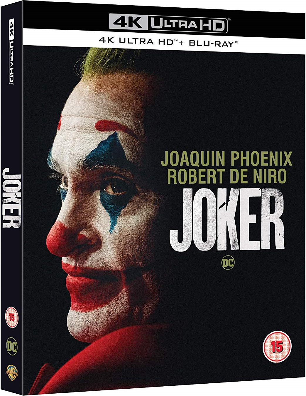 Joker 4K Ultra HD UK Blu-Ray