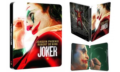 Warner Bros. Set to Release 'Joker' Steelbook on 4K Ultra HD Blu-Ray in the UK