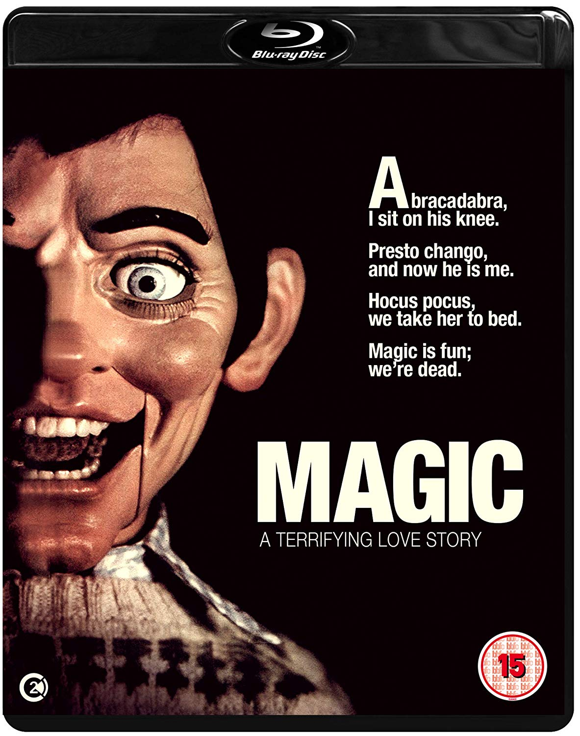 MAGIC UK Blu-Ray