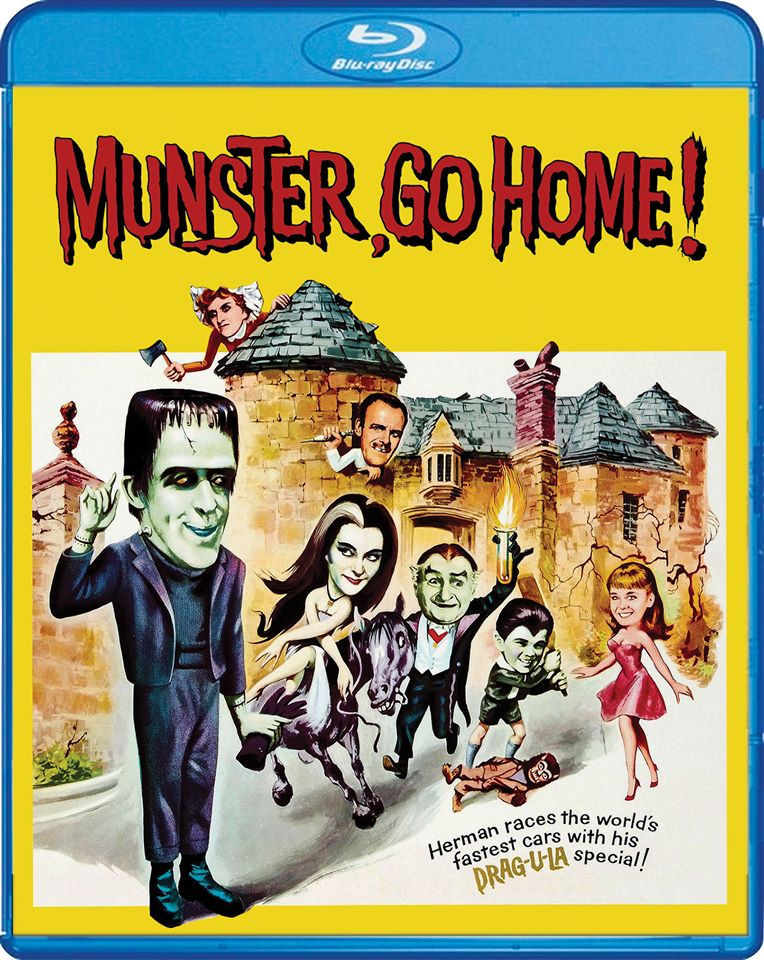 Munster Go Home Blu-Ray