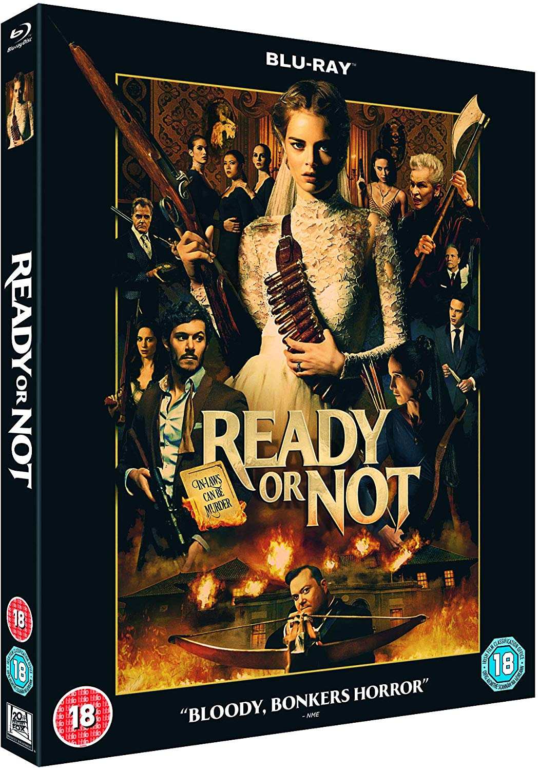 Ready or Not UK Blu-Ray