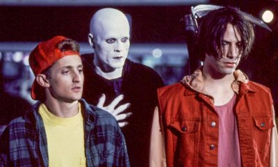 Bill and Ted Engage With Their Daughters in New 'Face the Music' Image, Trailer This Spring!