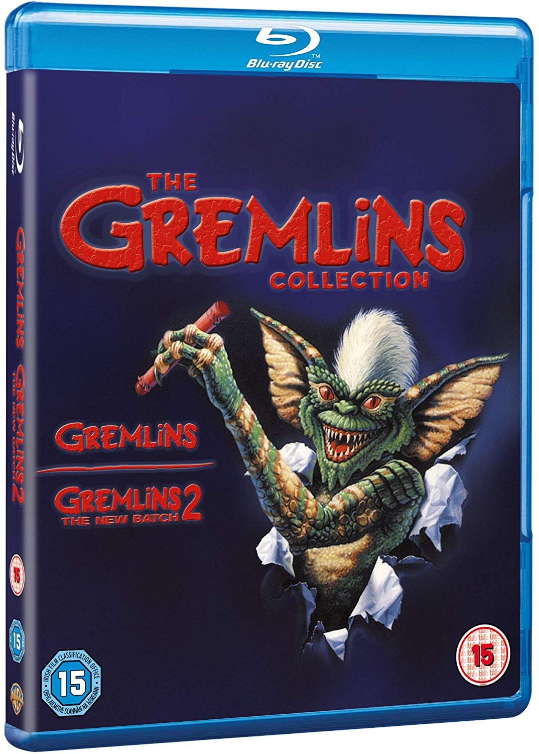 Gremlins 1 and 2 Collection UK Blu-Ray