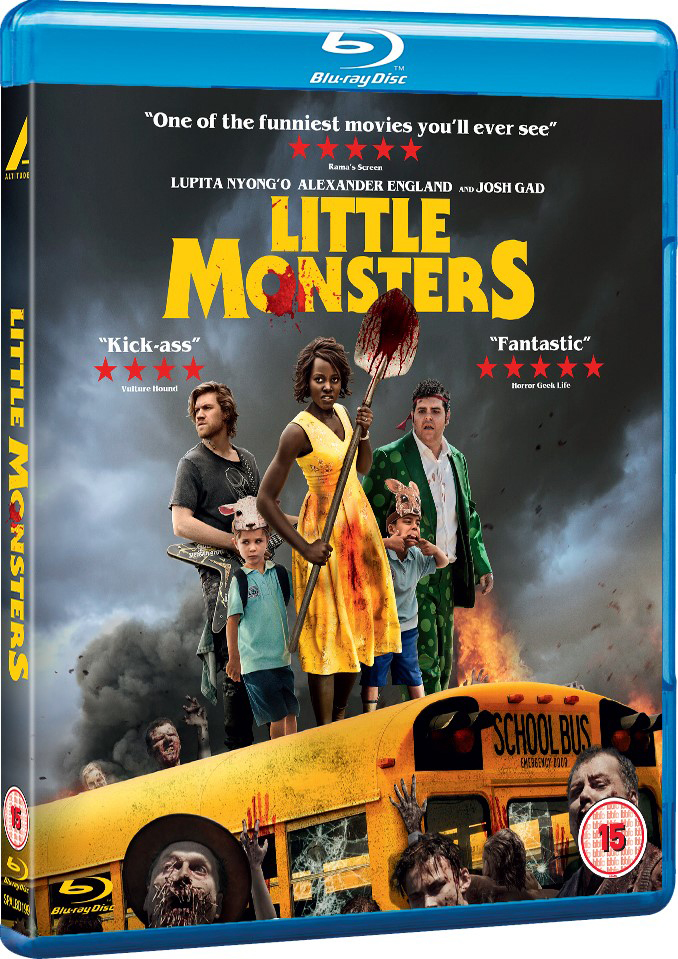 Little Monsters UK Blu-Ray
