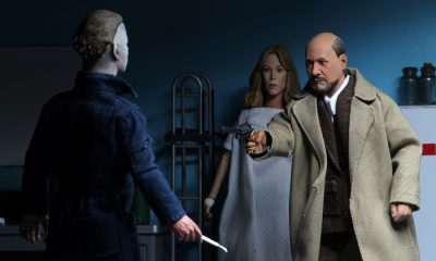 NECA Releasing Action Figures of Dr Loomis, Laurie Strode and Michael Myers from 'Halloween II'