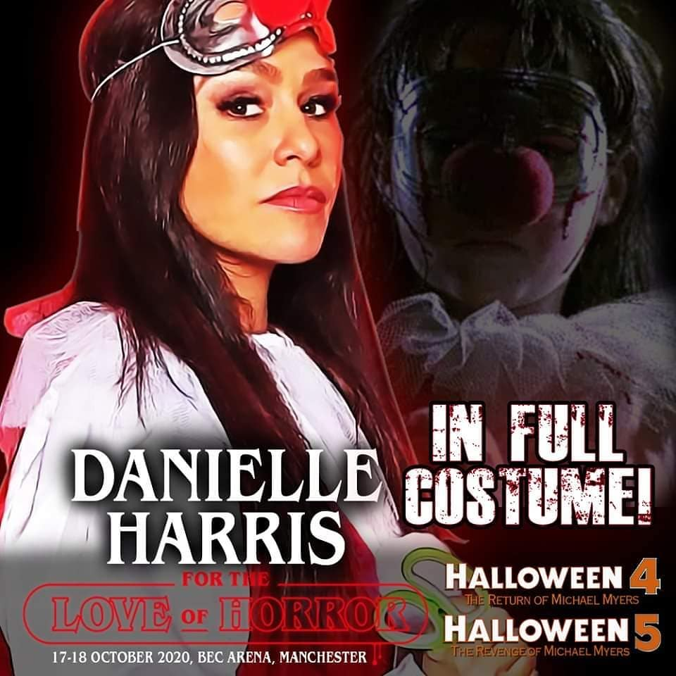 Danielle Harris Jamie Lloyd Artwork