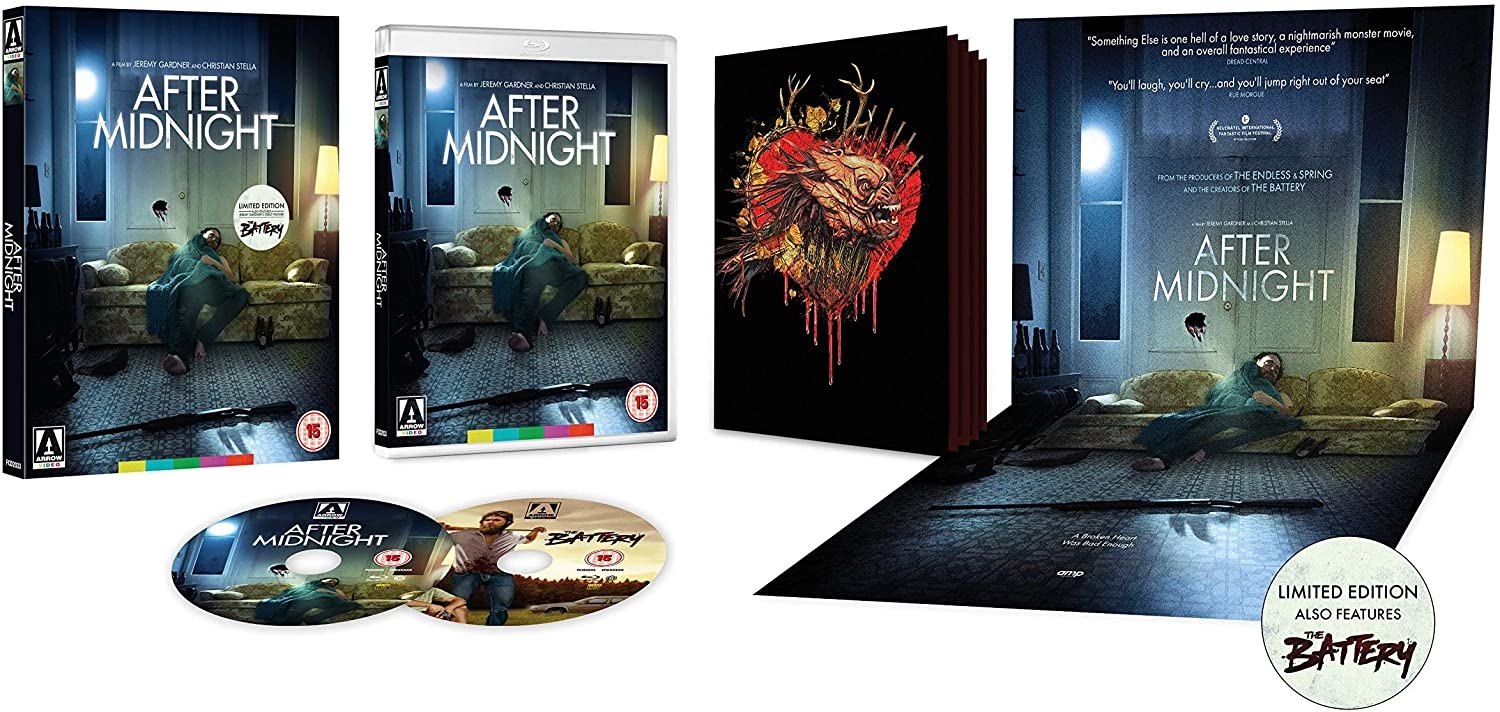 Arrow Video After Midnight Limited Edition UK Blu-Ray