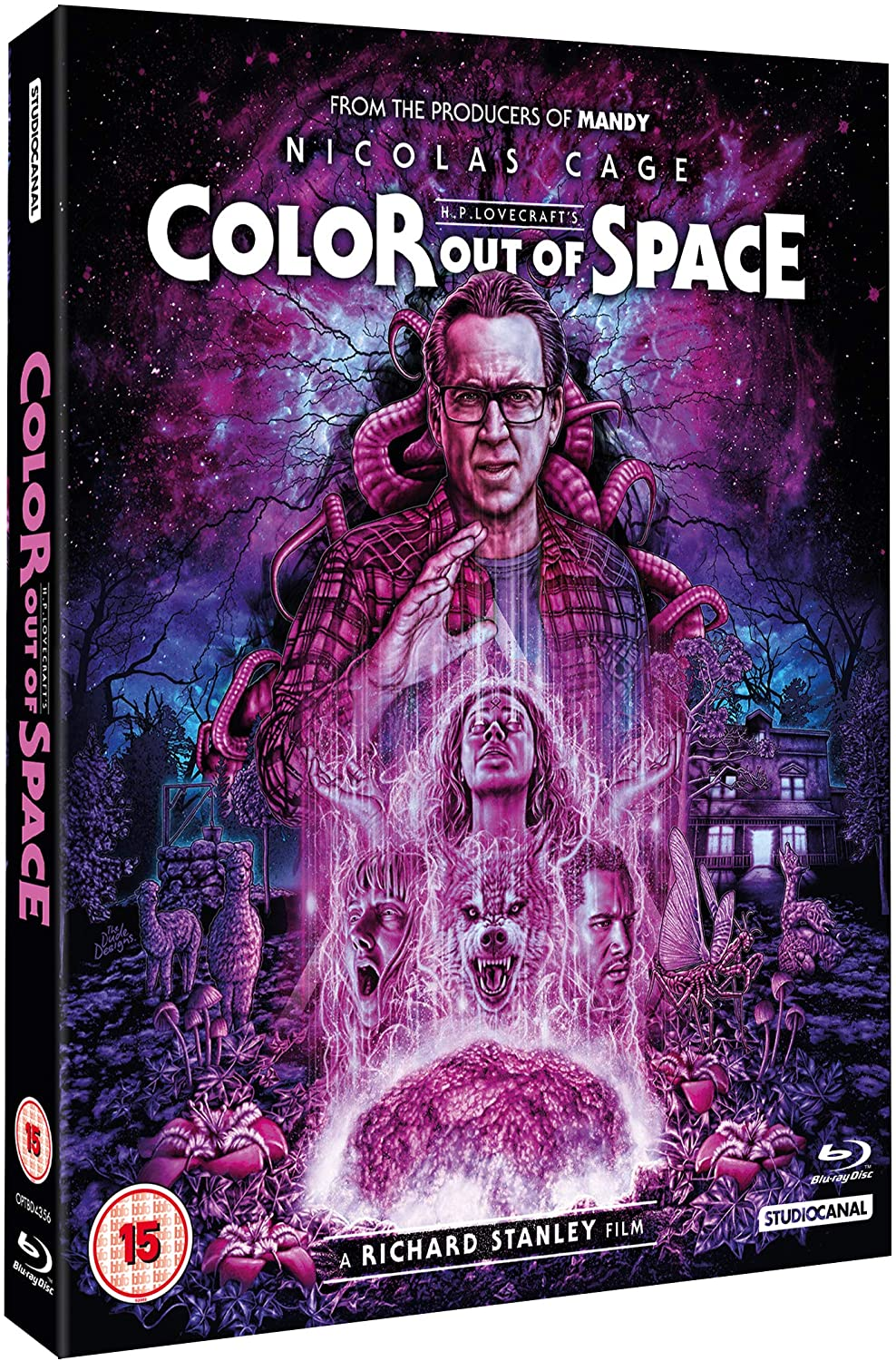 Studiocanal Color Out of Space UK Blu-Ray