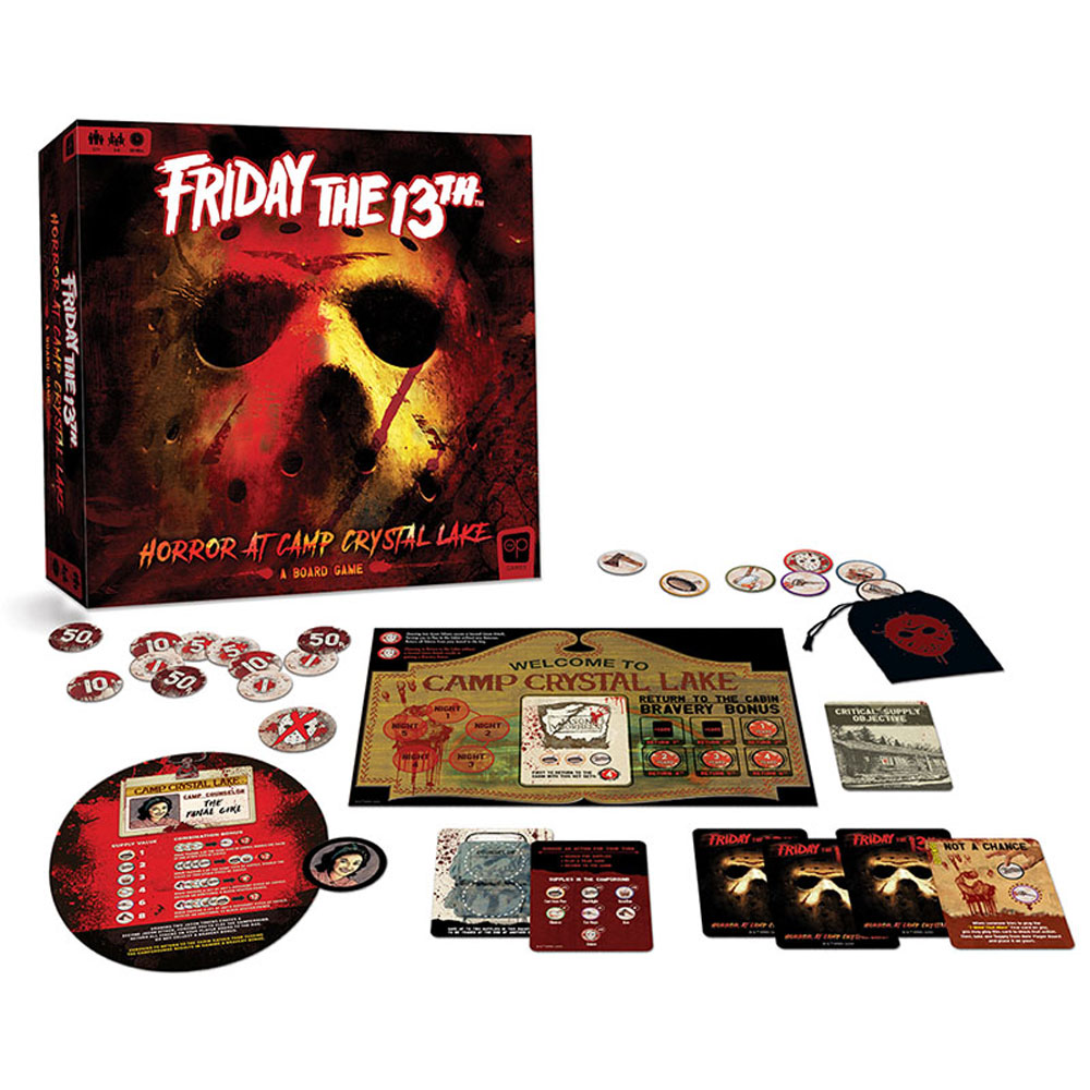 Friday the 13th Board Game Box Display