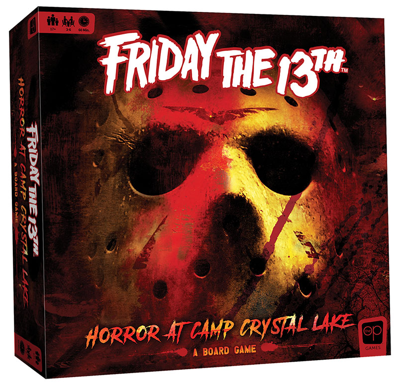Friday the 13th Board Game Box