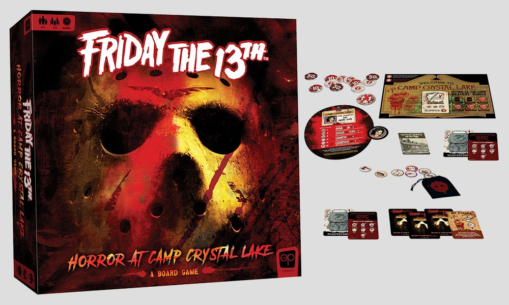 'Friday the 13th' Board Game Brings Camp Crystal Lake to Life This Summer